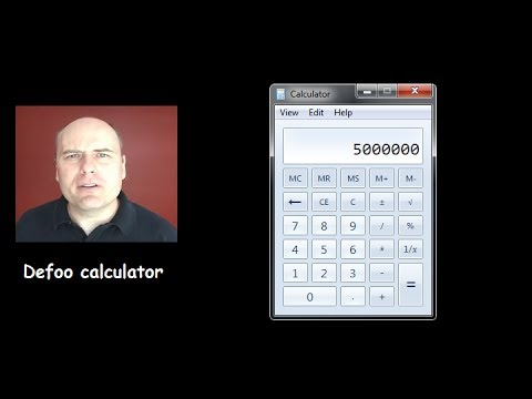 Molyneux's Defoo Calculator and Creative Accounting Methods