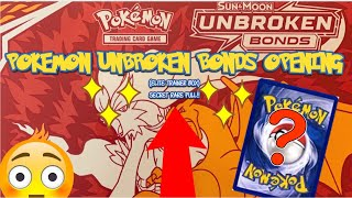 POKÉMON UNBROKEN BONDS OPENING (Elite trainer box)CRAZY PULL SECRET RARE!!