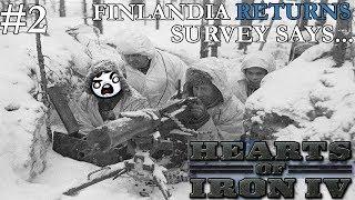 Hearts of Iron 4: Finlandia Returns #2 - Survey Says...