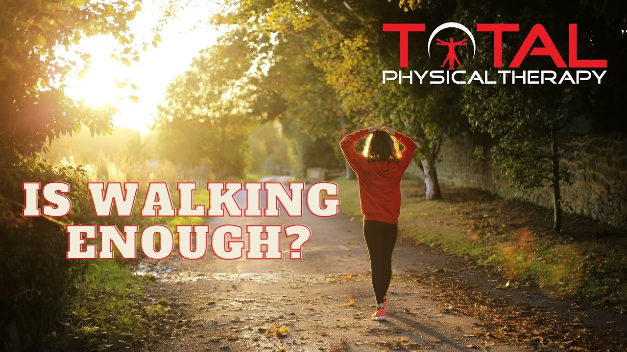 Is Walking Enough? Simple strategies to improve that approach