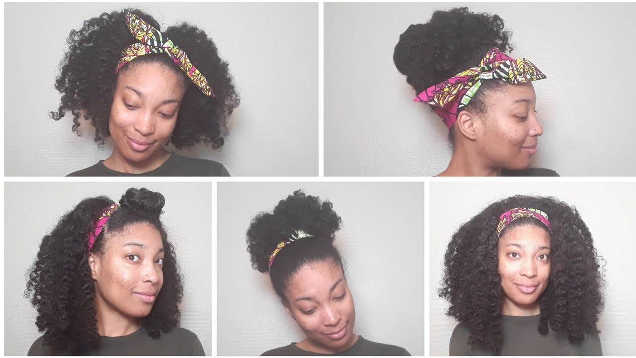 9 EASY CURLY HAIRSTYLES | Natural Hair