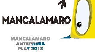 manCalamaro - Anteprima Play 2018