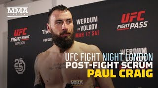 Paul Craig Would Consider Move to Middleweight After London Win - MMA Fighting