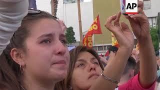Thousands demand answers about death of Argentina activist
