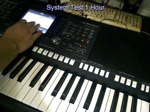 yamaha psr s950 error boot youtube. Black Bedroom Furniture Sets. Home Design Ideas
