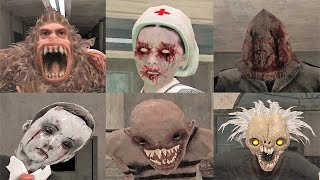 Bad Endings | Scary Hospital 3d | All Game Overs