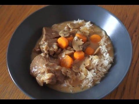 recette de blanquette de veau (recette cuisine companion moulinex