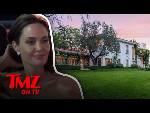 Angelina Jolie Drops $25 Million On Cecil B. DeMille Estate   TMZ TV