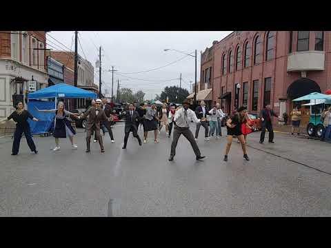 Houston Swing Dance Society Secret Flashmob