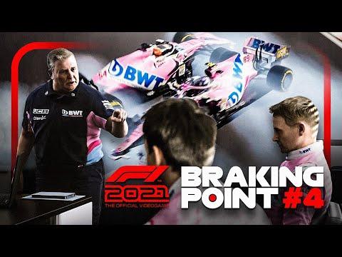 F1 2021 BRAKING POINT #4: JACKSON vs. AKKERMAN ESKALIERT VÖLLIG!! 💥💥 (Deutsch/German)