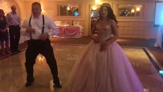 Sweet 15 / Quinceanera  Father Daughter Surprise Dance (Kiki, Level-up, Mo Money)