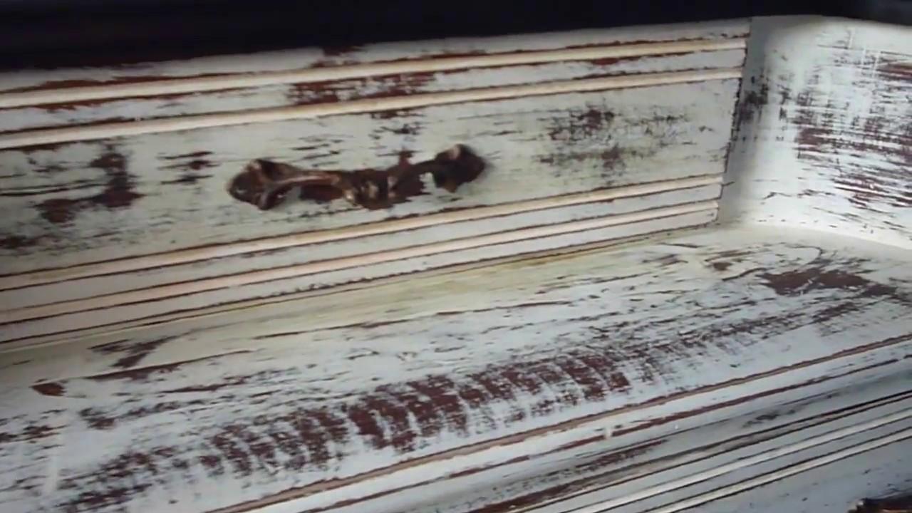 Como hacer un mueble vintage decapar madera decapado - Como decapar un mueble oscuro ...