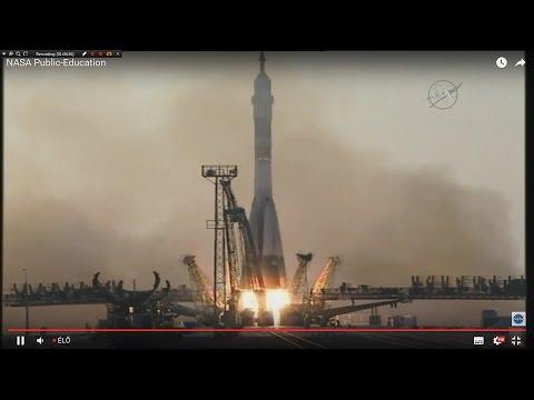 Soyuz MS-01 Launch