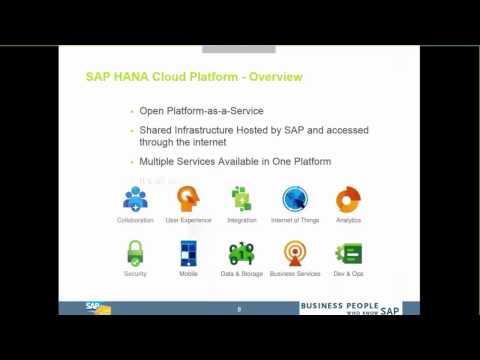 Webinar: SAP Cloud Platform