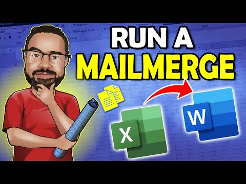 Office 365 Mail Merge With Word And Excel