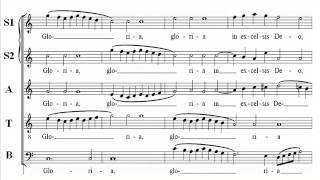 Sweelinck Hodie Christus C Score Soprano2