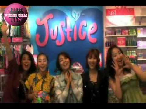 807aff1f4 Wonder Girls Promotes For Justice Stores - YouTube