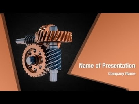 Mechanical engineering powerpoint video template backgrounds mechanical engineering powerpoint video template backgrounds digitalofficepro 01318v youtube toneelgroepblik Images