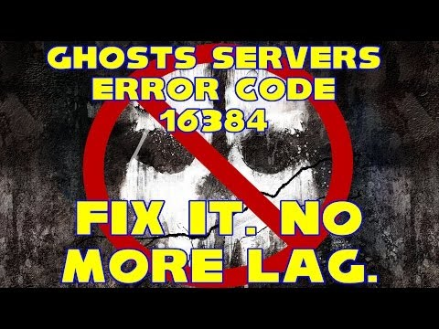 CoD Ghosts Servers Down Error Code 16384