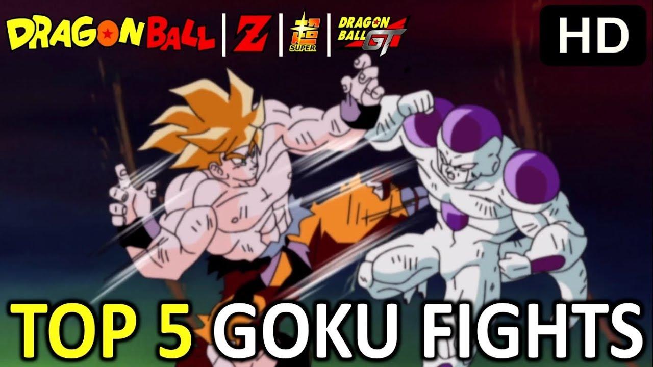 Top 5 Goku Fights