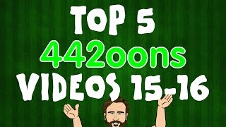 top 5 442oons videos 2015 2016 football cartoons