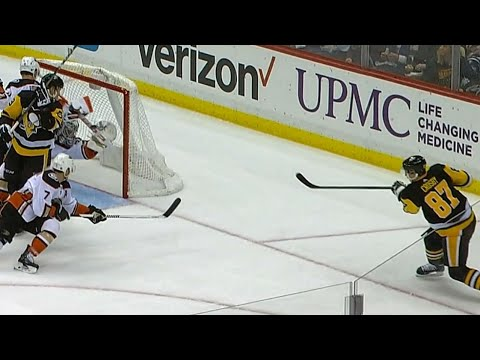 Crosby robbed as Gibson adds another highlight save to his list