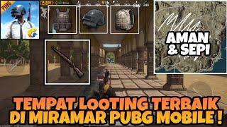 Tempat Looting Aman Map Miramar di PUBG MOBILE ! Tas, Armor, Hel LV3 + Kar98k