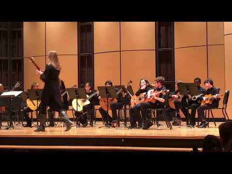 Albuquerque Academy - Beginning Guitar Performance Dec 2017
