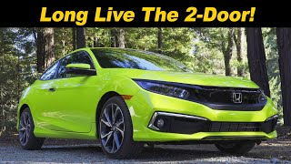 2019 / 2020 Honda Civic Coupe | Last 2--Door Standing