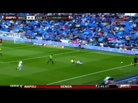 Sergio Ramos shows great speed vs Zaragoza Home 30/4/2011
