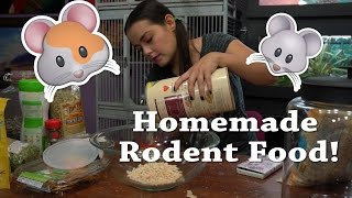 DIY Rodent Mix | Homemade Food