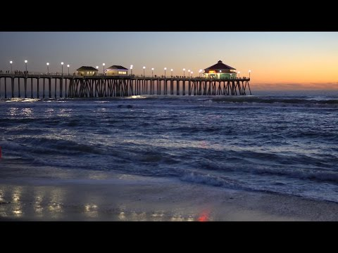 Huntington Beach, CA, Night, 1/28/2017 (4K@30)
