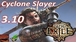 Path of Exile [3.10] Cyclone Slayer Build (Delete Everything) Poe Delirium