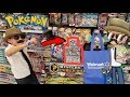 FINDING NEW HIDDEN POKEMON CARD MYSTERY POWER BOXES AT WALMART! HUNTING With Carls Shady Cart!