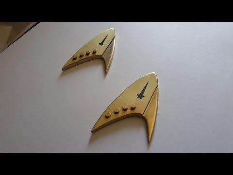 Star Trek Discovery Com Badge Replica