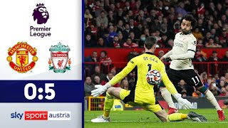 Reds-Gala im Old Trafford | Manchester United - FC Liverpool | Highlights - Premier League 2021/22