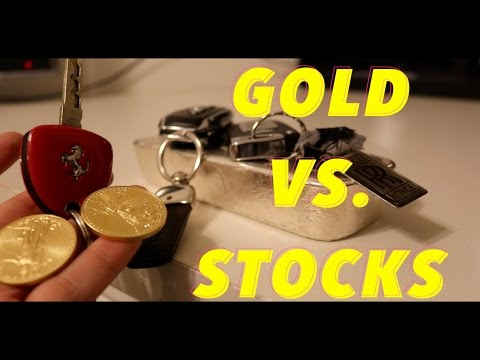 Relationship Between GOLD PRICE and STOCKS - Better To Buy Gold/Silver Or Stocks?- GOLD VS. STOCKS