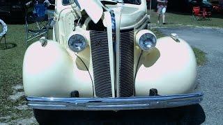 1937 Buick Special Four Door Sedan Ivory Geneva042316