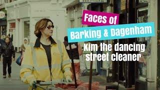 Faces of Barking & Dagenham - Kim the dancing street cleaner | OBLive