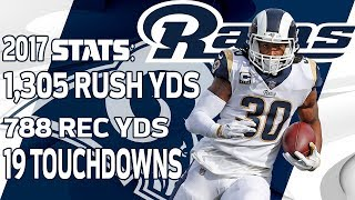 Todd Gurley's Top Plays from the 2017 Season | NFL Highlights