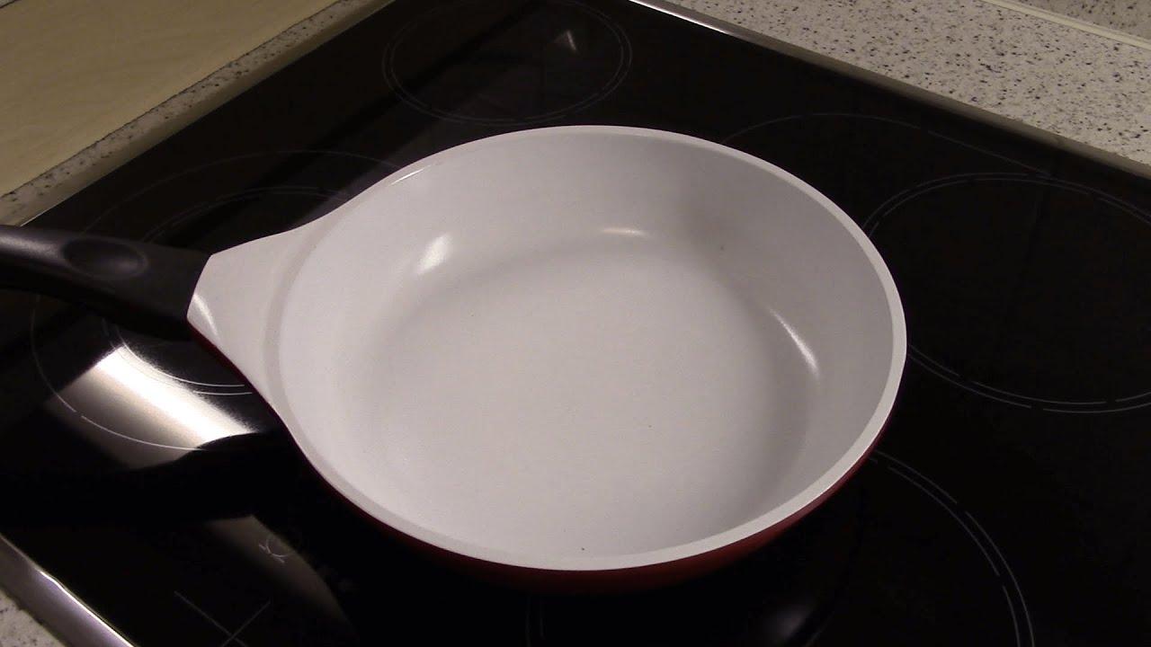 Сковорода с керамическим покрытием. Испытание. 2 - YouTube