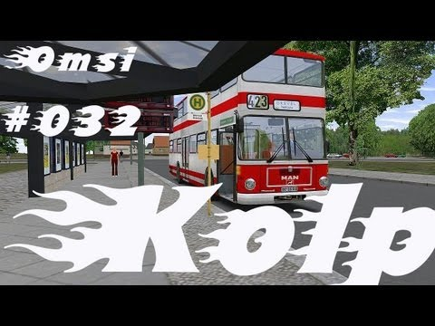 Let's Play OMSI Bussimulator #032 - Teil 2/2 - Kolp - Linie 126 - [Deutsch/German] [HD]