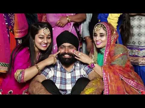 best cinematic highligh of amritpal weds anamdeep
