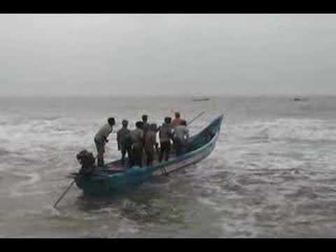 Tamil fishing village, Tamil Nadu
