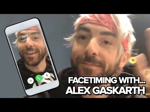 All Time Low's Alex Gaskarth Gives Us A FaceTime Call