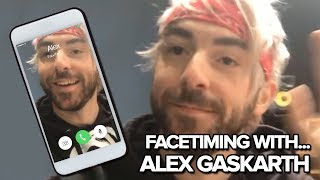 FaceTiming with... All Time Low&#39s Alex Gaskarth