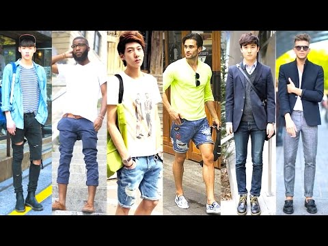 KOREAN VS. AMERICAN MENS FASHION 2016