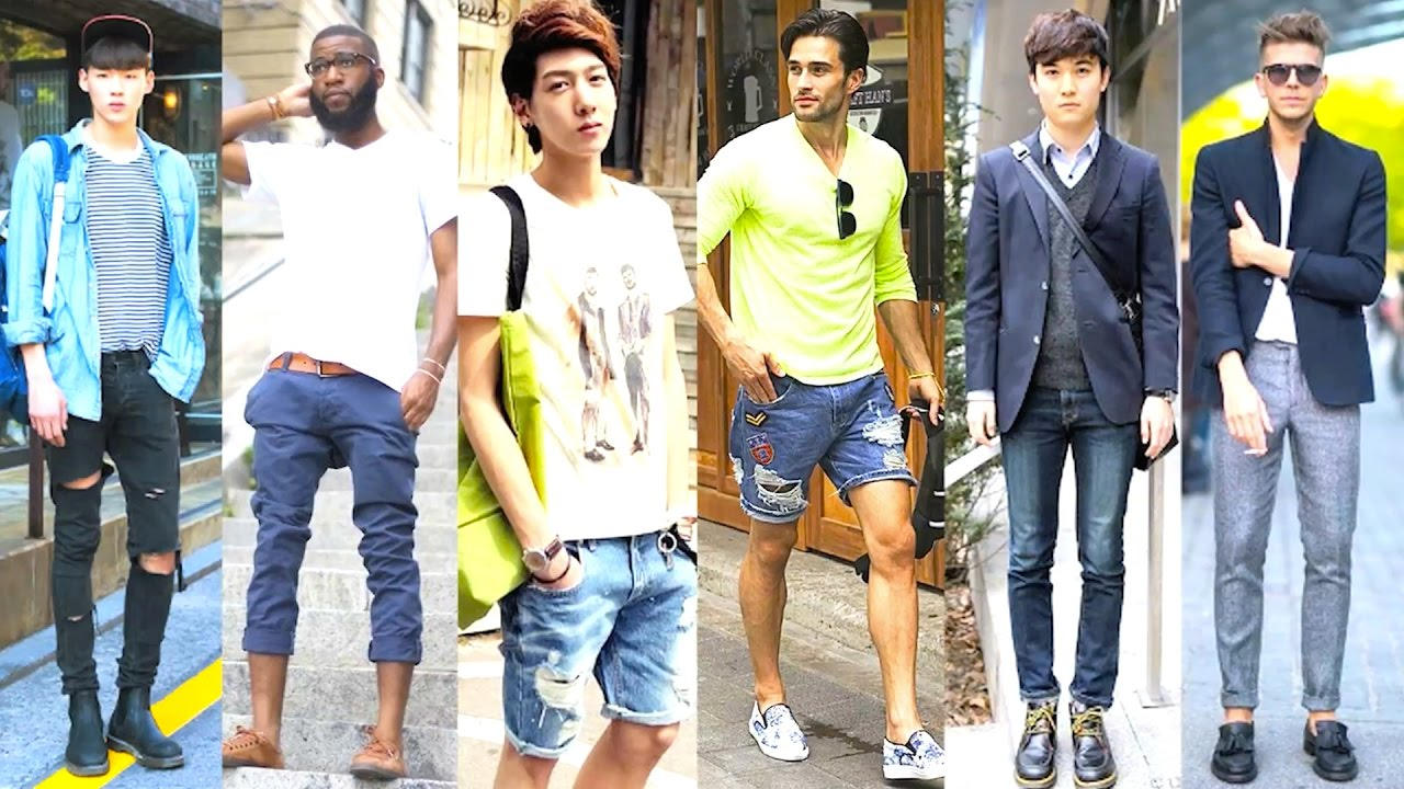Korean Vs American Mens Fashion 2016 Youtube