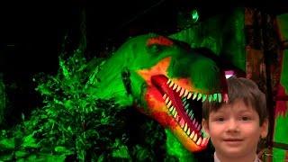 Гигантские динозавры которые двигаются - Мир динозавров ДиноКлуб (DinoClub) Бардашный Коля на Лубянк