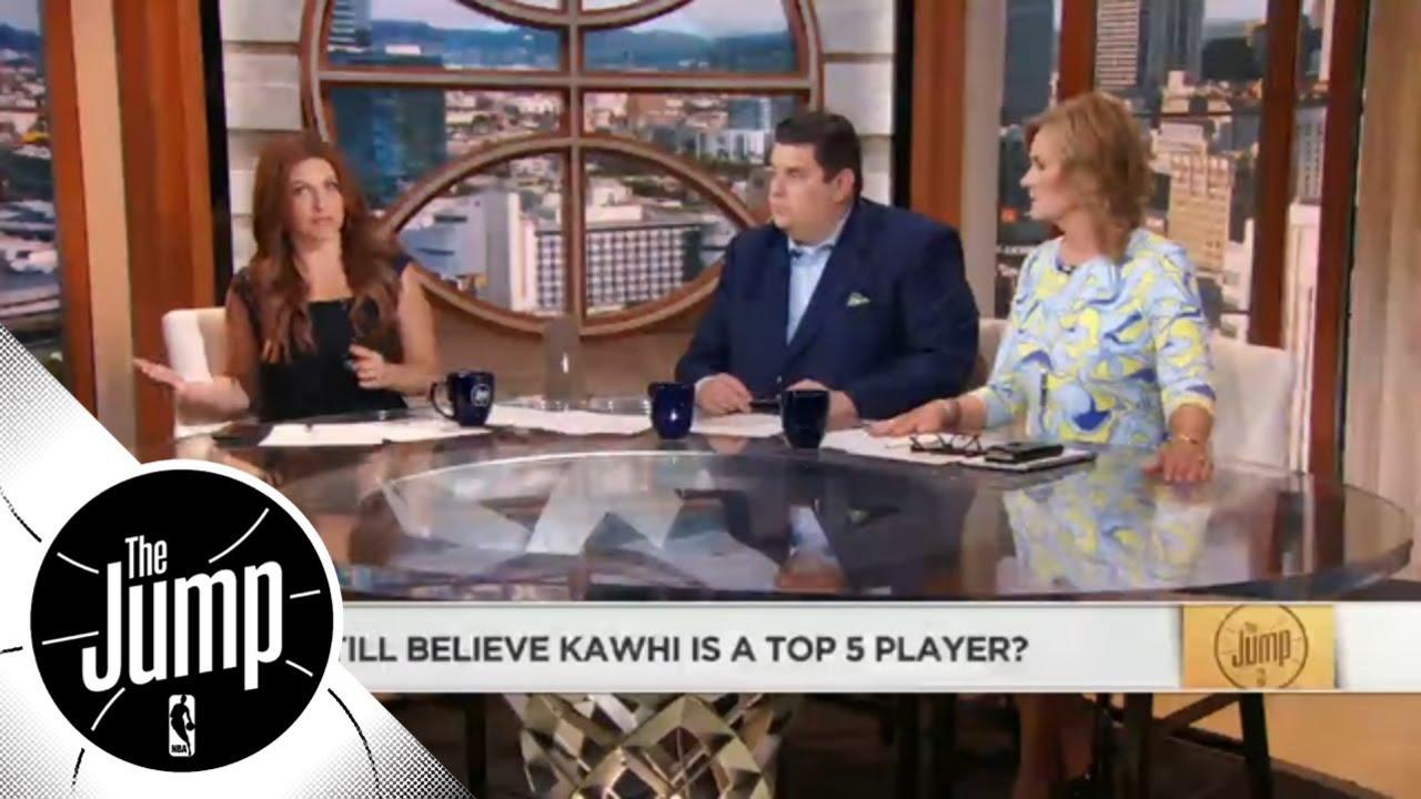 Brian Windhorst: Kawhi Leonard playing at USA camp a 'good sign' | The Jump | ESPN